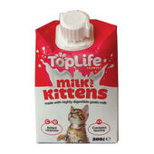 18 x TopLife Formula Kitten Milk 200ml