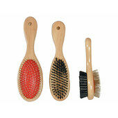 Rosewood Wooden Handle Double Sided Brush