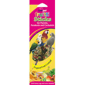 20 x Linkpet Fruitti Sticks Parrot & Parakeet Tropical
