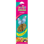 20 x Linkpet Fruitti Sticks Budgie Fruit Cocktail