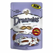 8 x Dreamies Duck Cat Treats 60g