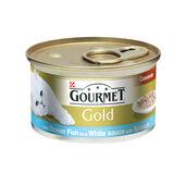 12 x Gourmet Gold Can Casserole Of Ocean Fish & White Sauce 85g