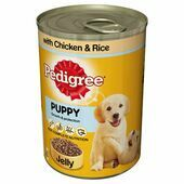 Pedigree Puppy Growth & Protection Chicken & Rice In Jelly Wet Dog Food
