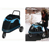 PetGear At3 Roadster Stroller Black / Blue