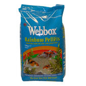 Webbox Rainbow Pellets Floating Fish Food For Koi & Pond Fish 10kg