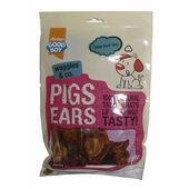 32 x Good Boy Waggles & Co Pigs Ears 60g