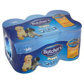 4 x Butcher's Can Puppy Variety Pack 6x400g
