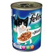 12 x Felix Can Tuna In Jelly 400g