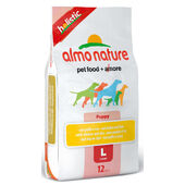 Almo Nature Holistic Chicken & Rice Large Breed Puppy Food - 12kg