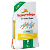 Almo Nature Holistic Chicken & Rice Medium Breed Puppy Food