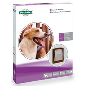 Staywell Original 2 Way Pet Door Brown