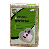 2 x Snowflake Timothy Hay for Rabbits - Medium