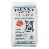 Friendship Estates Friendly Natural Straw Based Cat Litter