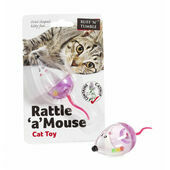 Sharples 'N' Grant Rattle A Mouse Cat Toy