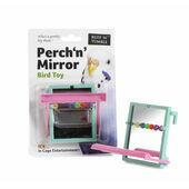 Sharples 'N' Grant Perch 'N' Mirror Bird Toy