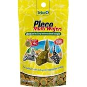Tetra Pleco MultiWafers 2-In-1 Large Bottom-Feeder Fish Food - 150g