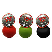 4 x HappyPet 'tough Toy' Rubber Ball 8cm (3