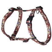 Rogz Pupz Nylon Harness Mr.t Brown