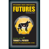 Fiscal Futures Turkey & Potato Puppy Working Dog Food
