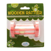 HappyPet Natural Wood Chews Wooden Rattler Triangle
