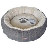 Tweedy Luxury Donut Dog Bed