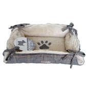 Tweedy Luxury Cat & Dog Grey Tweed Dog Bed