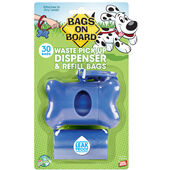 Bags On Board Bone Dispenser Blue With Bags 30