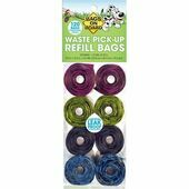 Bags On Board Refill Rolls Patterned Biodegradable Dog Waste Bags (120 Bags)