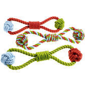 6 x Classic Rope Tug Toy 330mm