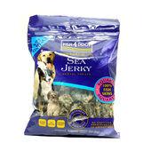 10 x 100g Fish4dogs Sea Jerky Squares Dental Dog Treats
