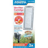 Marina Bio-clear Slim Filter Goldfish Cartridge 3pack