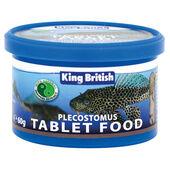 King British Plecostomus Tablet Food 60g