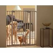 Back-2-Nature Dog Barrier With Cat/small Dog Door 75x107x4cm