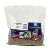 6 x C J Wildlife Dried Mealworms 250g