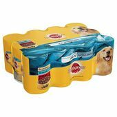 Pedigree Meat In Jelly With Fish Oil Wet Dog Food Variety Pack