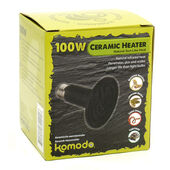 Komodo Ceramic Heat Emitter Black 100w