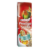 16 x Versele Laga Prestige Large Parakeet Sticks Exotic Fruit