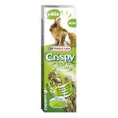 16 x Versele Laga Crispy Sticks Mega Rabbit & Guinea Pig Green Meadow