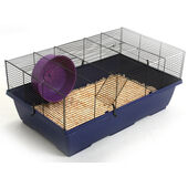 Pennine Rat Cage With Wheel & Floor 80x50x34cm