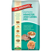 6 x Mr Johnson's Supreme Hamster & Gerbil Mix 900g
