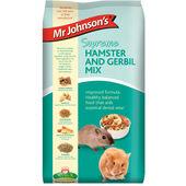 6 x Mr Johnson\'s Supreme Hamster & Gerbil Mix 900g