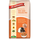 6 x Mr Johnson's Supreme Rat & Mouse Mix 900g