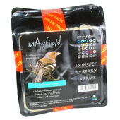 4 x Mayfield Suet Tray Triple Pack