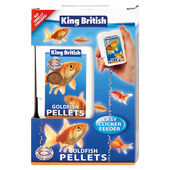 King British Gold Fish Easy Clicker Feeders 26g