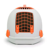 Igloo 2 In 1 Cat Loo & Carrier Sunset Orange