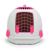 Igloo 2 In 1 Cat Loo & Carrier Persian Pink