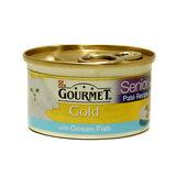 12 x Gourmet Gold Senior Pate With Ocean Fish 85g