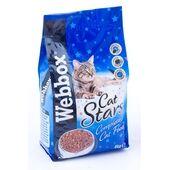 12 x Webbox Cat Stars Complete Cat Food 900g
