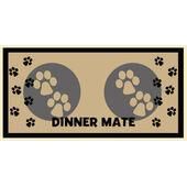 Pet Rebellion Dinner Mate Feeding Mat Cream 40x60cm