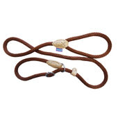 Dog & Co Rope Slip Lead Brown/Tan 150cm